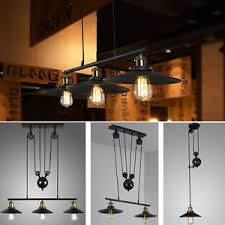 Retractable Ceiling Light by Industrial Retro Vintage Hanging Ceiling Light Pendant Retractable