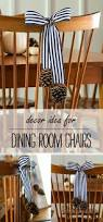 decorating the dining room chairs