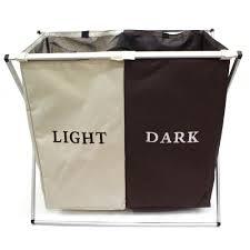 Light And Dark Laundry Hamper by Wallmark Light Dark Foldable Laundry Hamper Storage Basket Lazada Ph