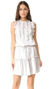 la vie rebecca taylor sleeveless ruffle jersey dress shopbop
