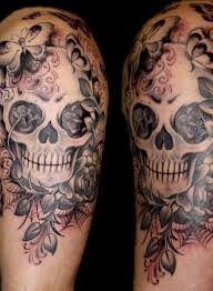 Skull Arm - best 25 lace skull ideas on tat skull