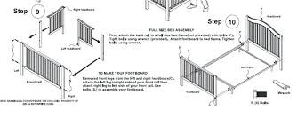 How To Convert A Crib Into A Toddler Bed How To Convert A Crib Into Toddler Bed Crib Conversion Toddler Bed