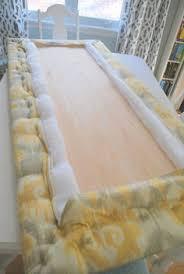 Diy Headboard Fabric The Easy Way To Make An Upholstered Diy Headboard Upholstered