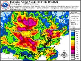 Map Of Louisiana Parishes by Usa U2013 Record Floods In Louisiana Leave At Least 3 Dead U2013 Floodlist
