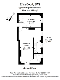 Brixton Academy Floor Plan by 1 Bed Flat To Rent In Effra Court Brixton Sw2 43903158 Zoopla