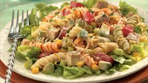 chicken pasta salad southwestern chicken pasta salad recipe bettycrocker com