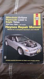 28 98 mitsubishi eclipse repair manual 31250 chilton 1990