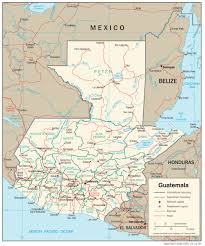 Blank India Map Pdf by Guatemala Map Blank Political Guatemala Map With Cities