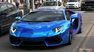 chrome lamborghini blue lamborghini my car