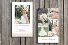 business card template wedding photographer business card