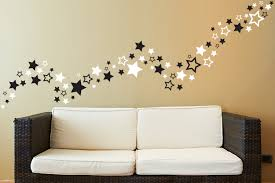 wall decoration wall sticker stars lovely home decoration and