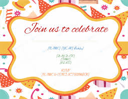 create invitations 5 birthday invitation templates to create invitations