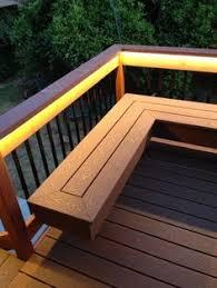 Deck Storage Bench Benches Composite Deck Bench Decks Pinterest Bench Decking
