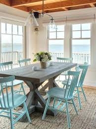 turquoise dining chairs navy blue beach style room extraordinary