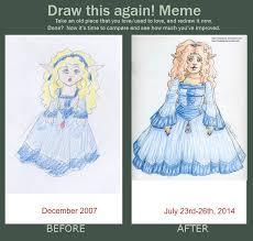 Draw It Again Meme Template - zeldalina s art zelda originals etc page 13 artwork