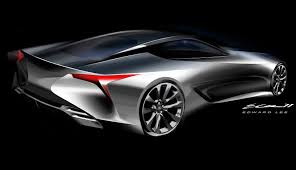 lexus lf lc performance lexus lc500 vs lexus lf lc concept styling faceoff photos 1
