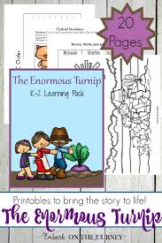 printables and activities for the enormous turnip activities