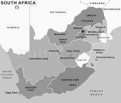 africa map black and white south africa provinces map black and white black and white