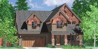4 Bedroom Homes 40 Ft Wide 2 Story Craftsman Plan With 4 Bedrooms