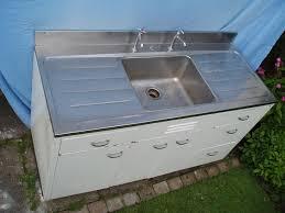 Entrancing  Metal Kitchen Sink Cabinet Unit Decorating Design - Sink units kitchen