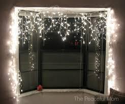 christmas lights in windows cool christmas lights for windows designs with window christmas