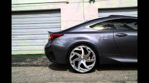 lexus rcf tires fotoserie tuning 22 zoll forgiato wheels lexus rc f rc f youtube