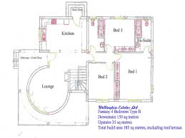 collection 4 bedroom bungalow plans photos free home designs photos