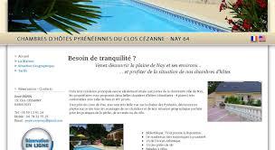 chambres d hotes 64 chambres d hôtes dans villa avec piscine à nay 64 chambres hotes
