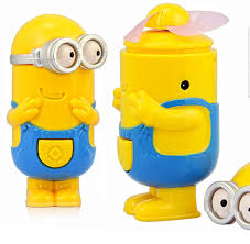 battery operated electric fan me minion hand fan battery operated