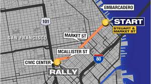 San Francisco Ferry Map by San Francisco Giants Victory Parade 2014 Abc7news Com