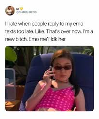 Emo Meme - dopl3r com memes mariahreds l hate when people reply to my emo