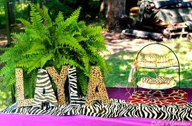 buffet tables safari baby boy jungle shower themes baby shower