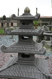 images of new four tier pagoda garden statue ornament japanese koi