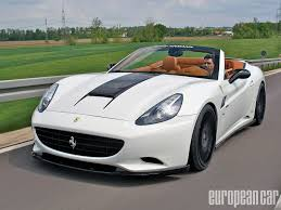 Ferrari California Back - hamann ferrari california european car magazine
