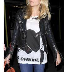 motorcycle style leather jacket sienna miller black biker leather jacket