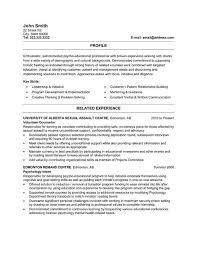 Resume Volunteer Work Volunteer Resume Template Resume Examples No Job History Sample