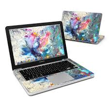 macbook pro case macbook pro 13in skin cosmic flower by creative by nature decalgirl