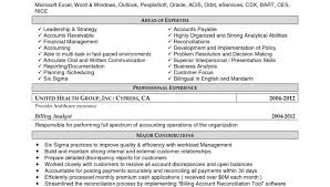 Sample Of Accounts Payable Resume by Sample Resume For Accounts Receivable Accounts Payable Receivable