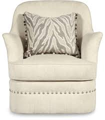 Ivory Accent Chair A R T Furniture Amanda Ivory Swivel Chair Transitional