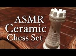 Ceramic Chess Set Asmr Ceramic Chess Set Unboxing Cardboard Ceramic Sounds Soft