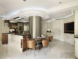 kitchen island extractor fan island built around supporting pillar in a kitchen kitchen