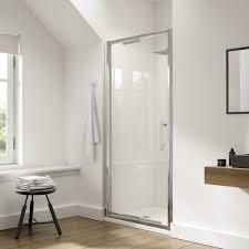 Infold Shower Door Dilusso Deight Infold Shower Door Inswing Design 700 1000mm