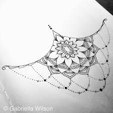 sternum under tattoo google search tats pinterest