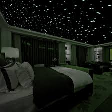 amazon com mafox glow in the dark wall or ceiling moon stickers