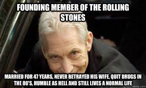 founding member of the rolling stones married for 47 years never