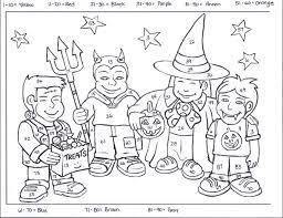 math halloween worksheets worksheets