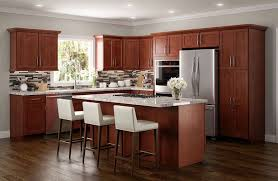 modern kitchen with cherry wood cabinets kitchen american cherry kitchen cabinets cherry laminate