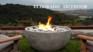 Cool Firepit Cool Eldorado Artisan Bowls Concrete Pit Bowl