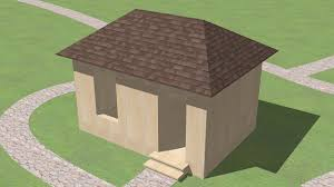 How To Build A Shed Roof House by How To Build A Hip Roof 15 Steps With Pictures Wikihow