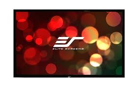 projection screens amazon com amazon com elite screens ezframe series 92 inch diagonal 16 9